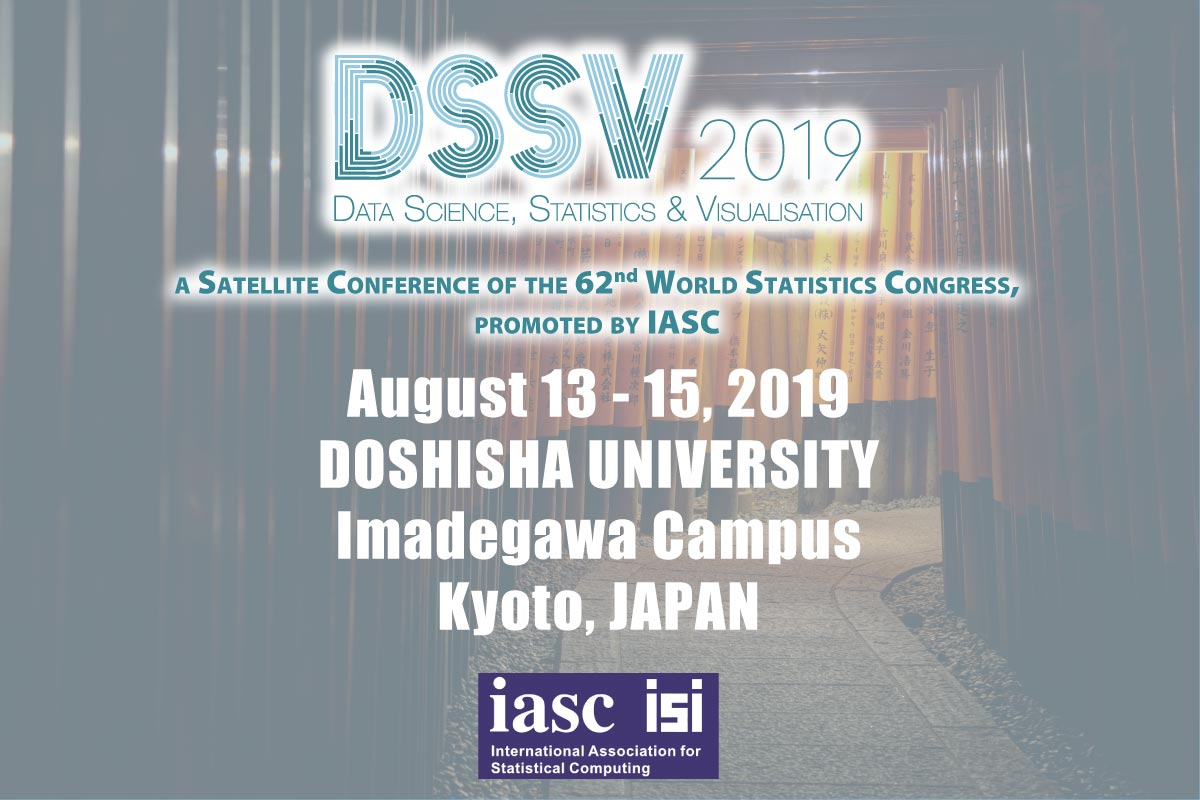 DSSV2019, a Satellite Conference of the 62nd World Statistics Congress, promoted by IASC